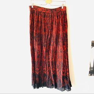 Lemon Grass boho Indian maxi skirt